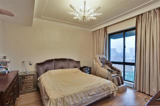 现代简约别墅卧室布置图