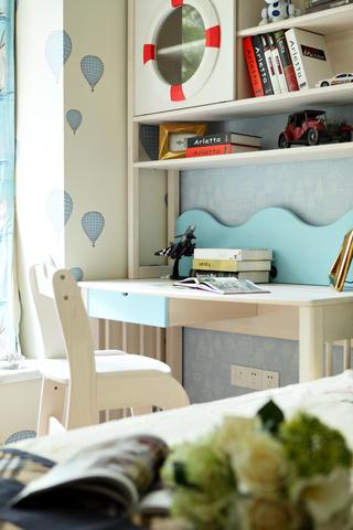 现代三居之家书桌图片