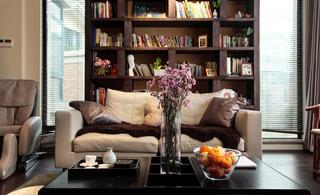 新中式别墅装修沙发图片