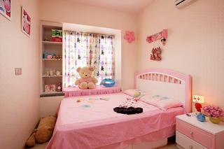 90平现代简约三居装修儿童房欣赏图