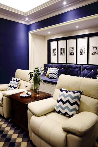 大户型时尚现代风装修沙发图片