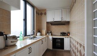 美式别墅装修厨房构造图