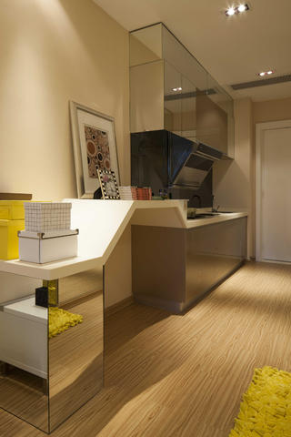 一居室小户型装修书桌图设计