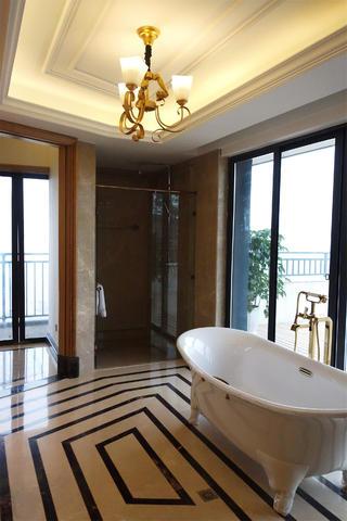 欧式新古典别墅装修卫生间设计图