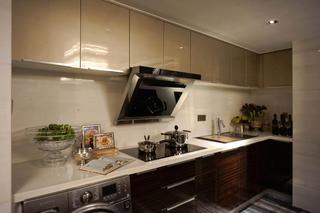 现代复式装修厨房构造图