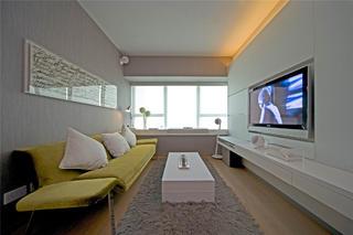 70平小户型装修客厅设计图