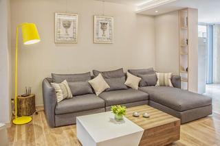 简约宜家风格别墅装修沙发背景墙图片