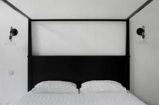168平极简装修床头背景墙图片