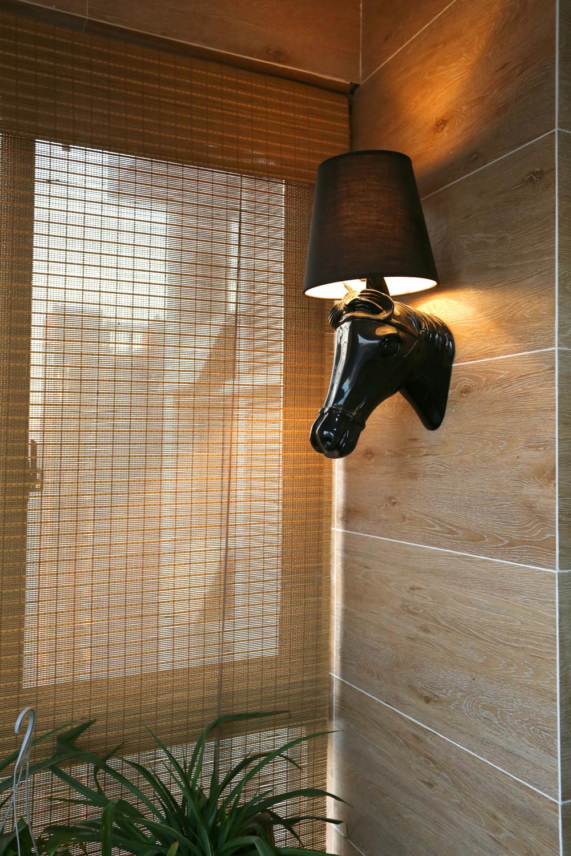 宜家风格二居装修造型壁灯图片