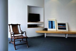 140平极简风电视墙设计
