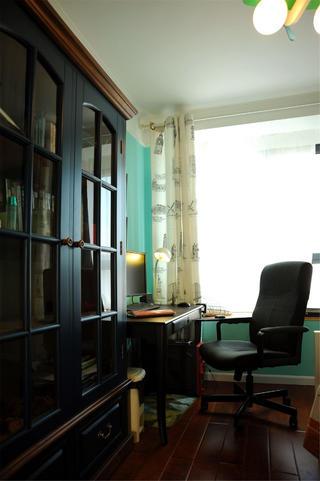 地中海风格两居书房设计图