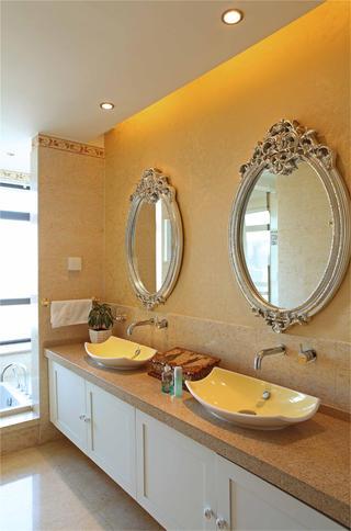 大户型欧式风格装修卫生间搭配图