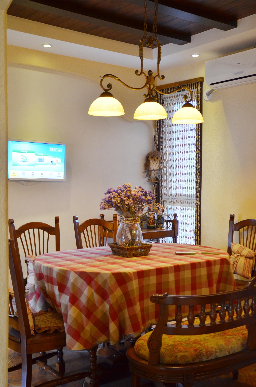中式田园风格家餐厅搭配图