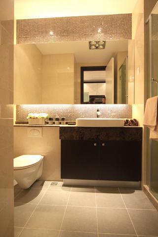 酒店式公寓装修卫生间布局图