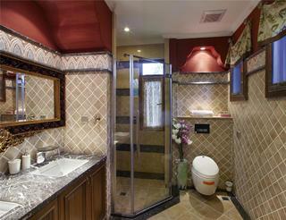 美式风格别墅卫生间布局图