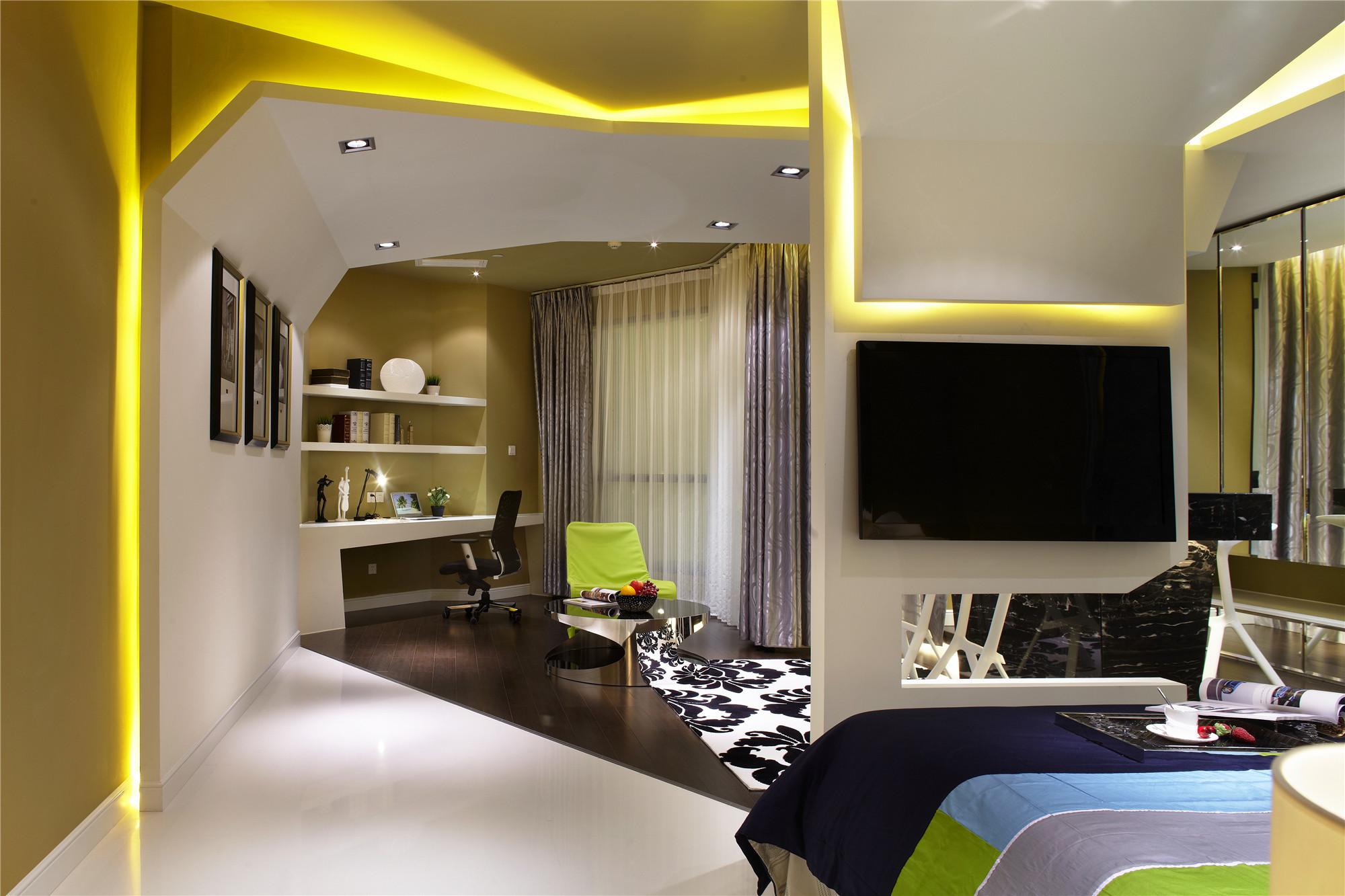 小户型公寓装修卧室效果图