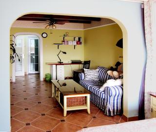 一居室小户型装修客厅一角