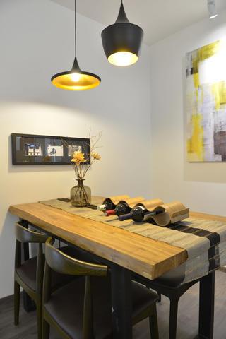 98平混搭风格家餐桌椅图片