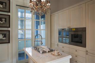 新古典风格别墅装修厨房效果图
