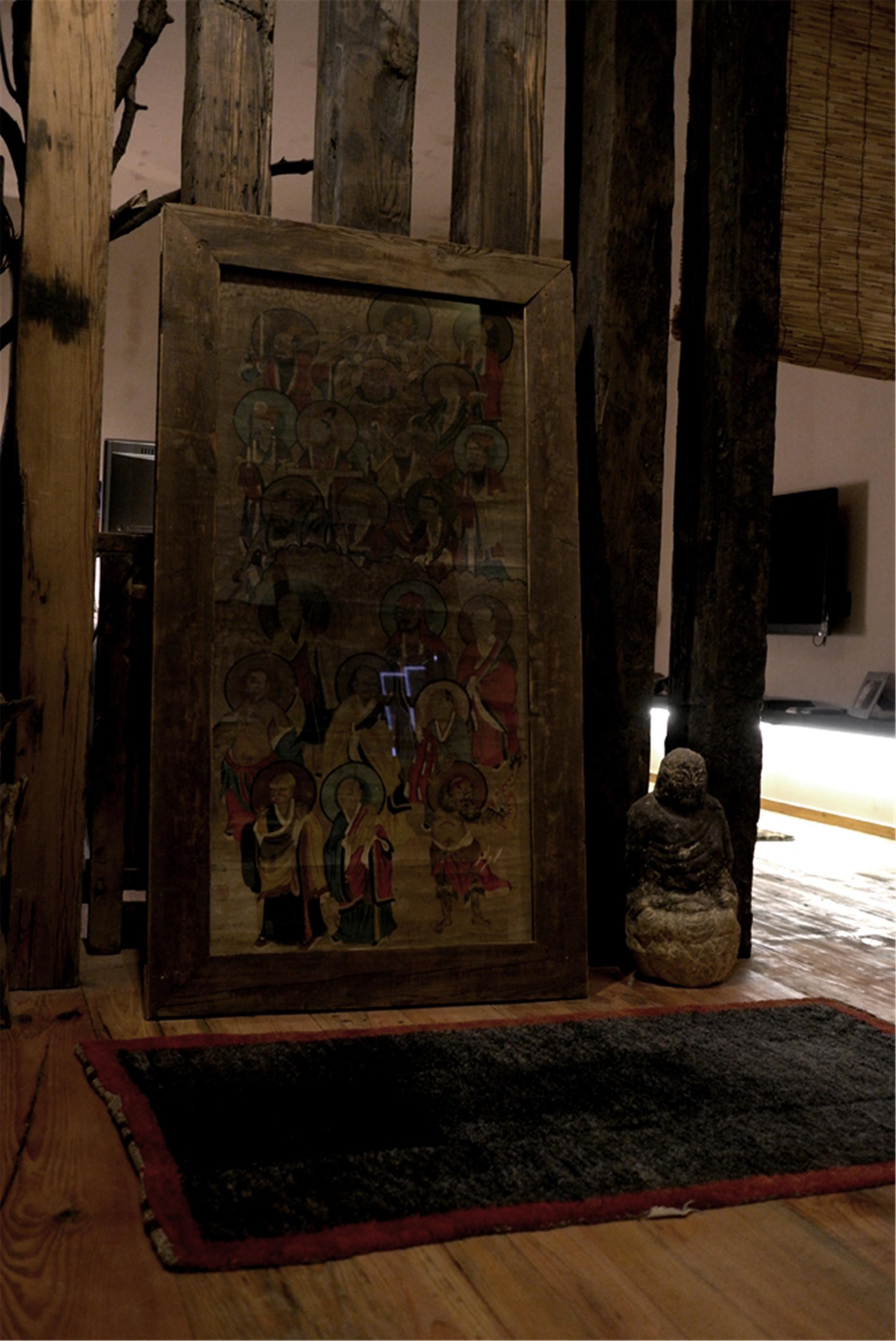 小户型中式之家装饰画摆件