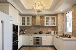 欧式别墅装修厨房构造图