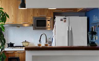 130平简约风装修厨房设计图