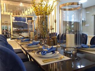 现代简约三居室餐具摆件