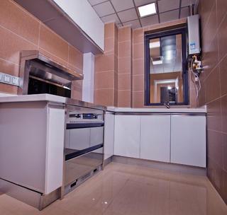 90平简约二居装修厨房装潢图