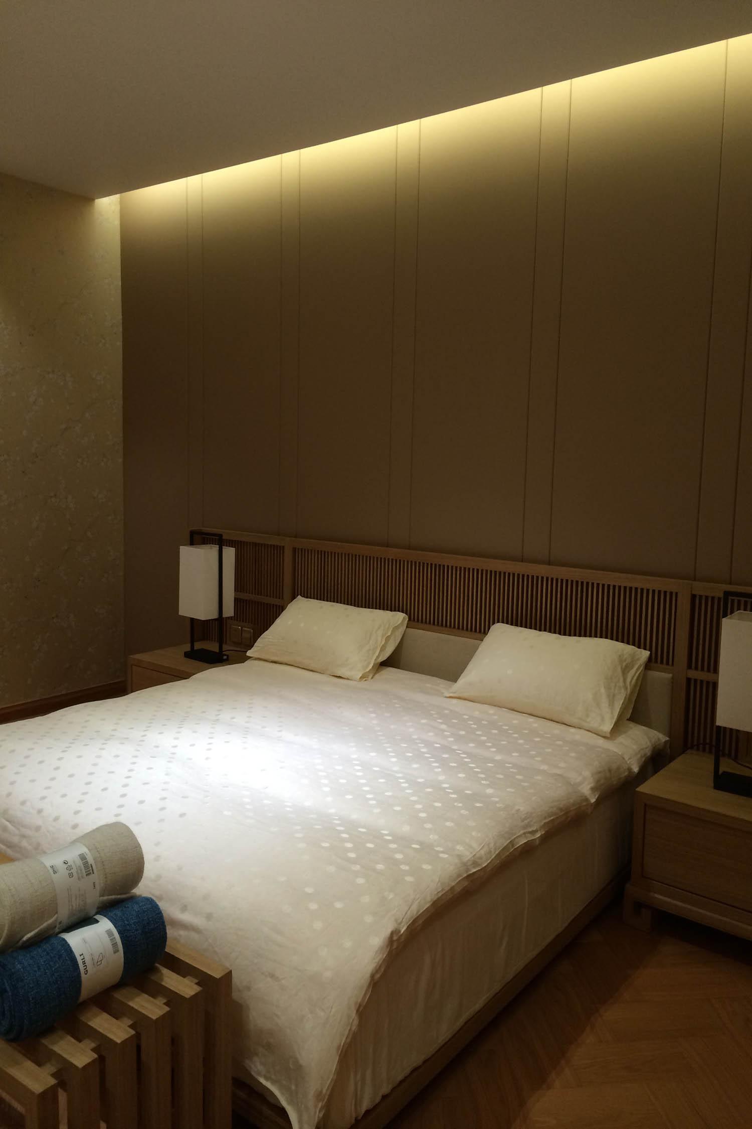三居室日式之家卧室设计图