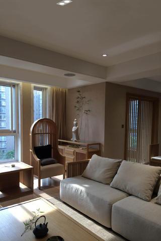 三居室日式之家沙发图片