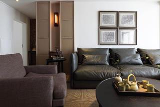 现代简约三居之家沙发图片
