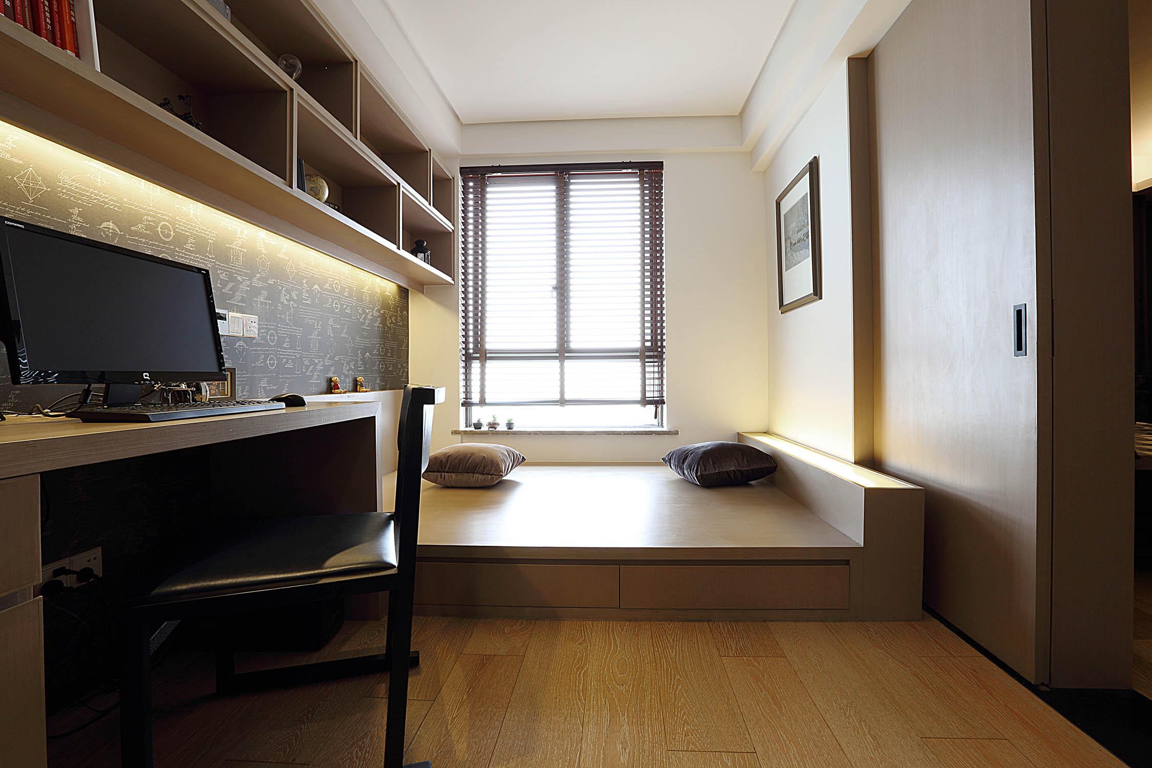 现代简约三居之家榻榻米设计