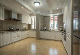 美式别墅装修厨房布局图