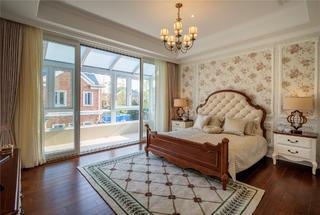 美式別墅裝修臥室設計圖