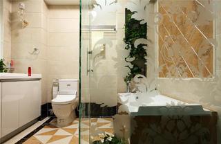 新古典装修卫生间布局图