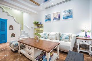 地中海三居之家沙发图片