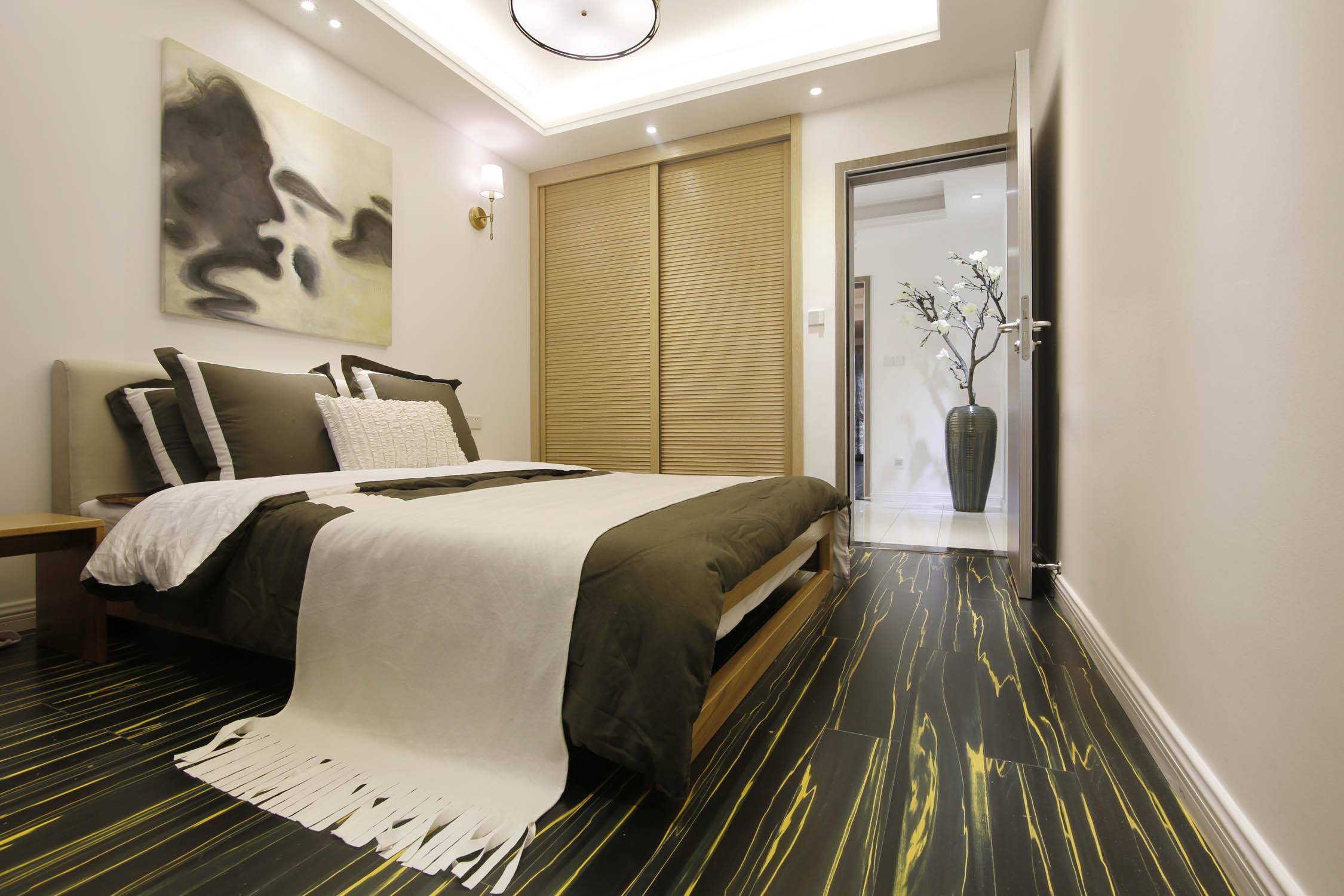 复式混搭装修卧室效果图