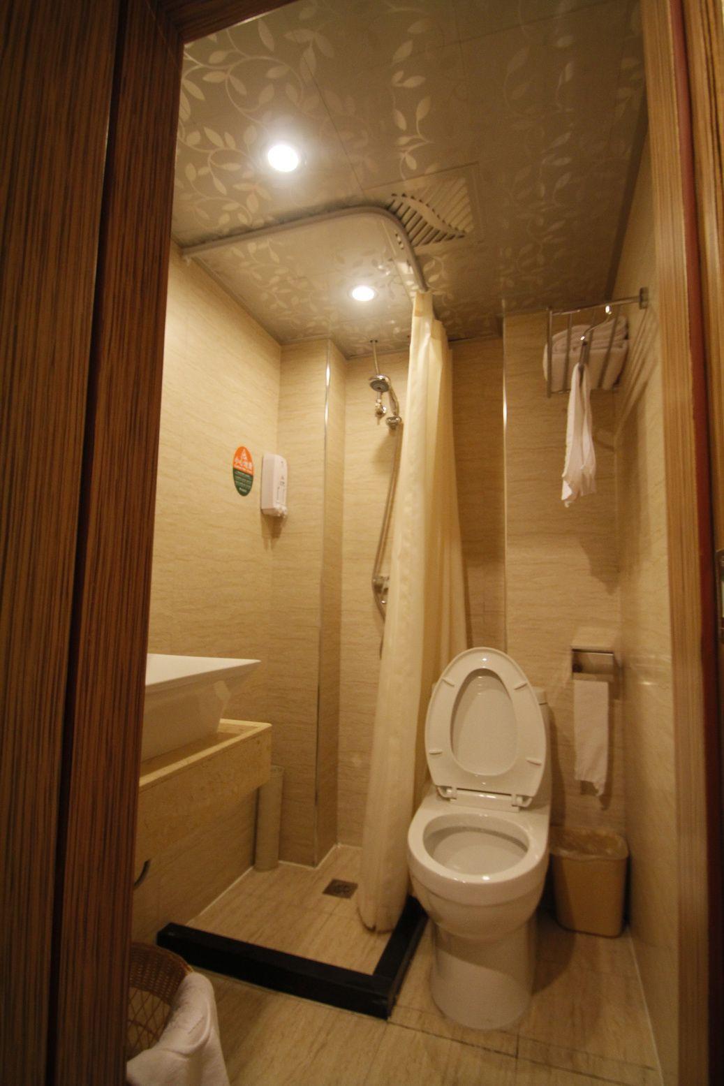 酒店式公寓装修卫生间设计图