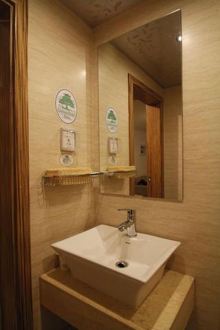酒店式公寓装修洗手台图片
