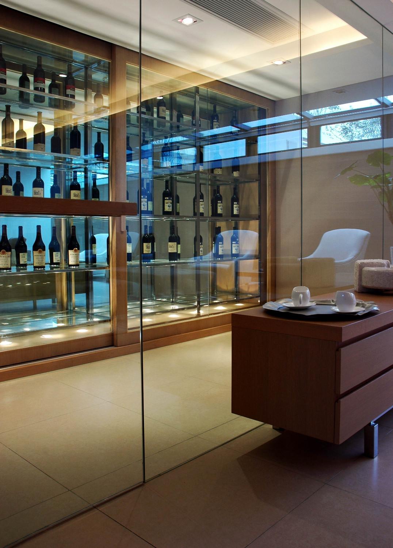 现代风格别墅酒柜设计