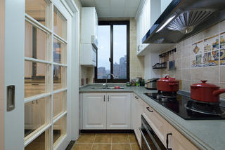 美式二居之家厨房布局图