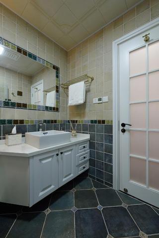 美式二居之家洗手台图片