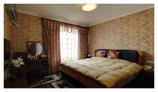 140平浓郁美式风装修卧室布置图