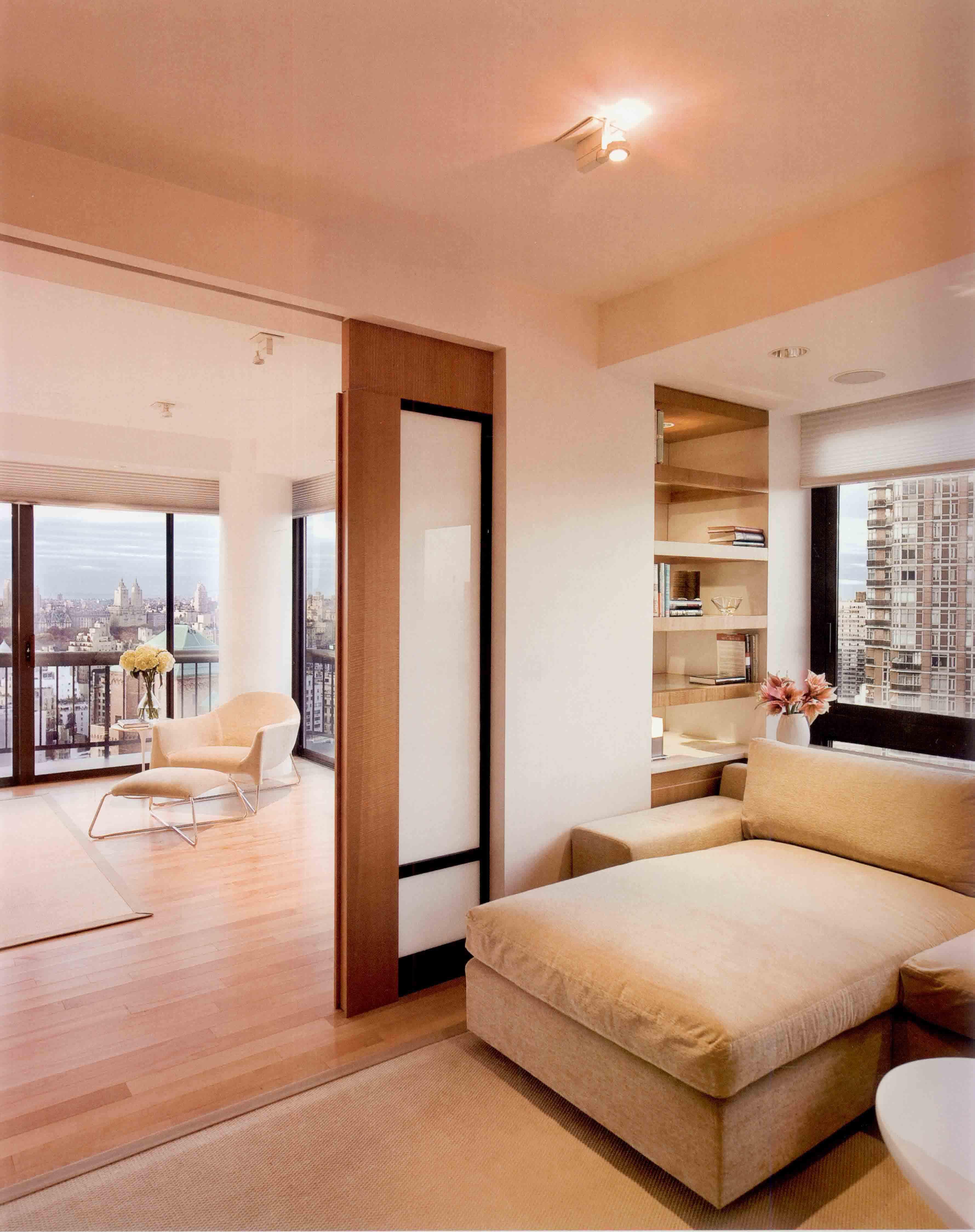 100㎡现代二居装修沙发床图片