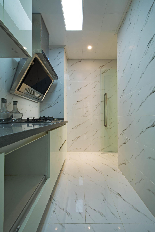 二居室混搭装修厨房装潢图