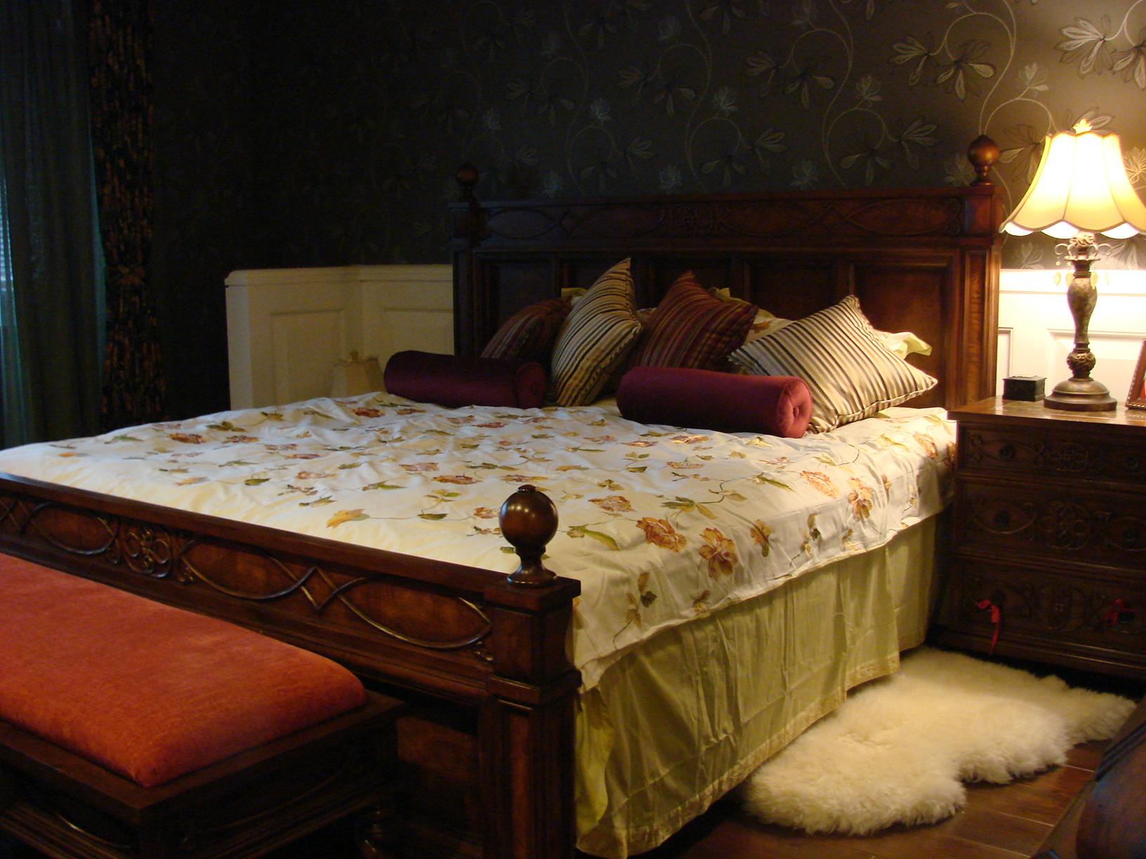 田园风格别墅卧室设计图
