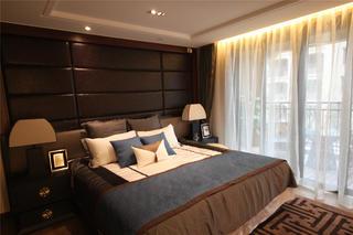 新中式复式三居装修主卧设计图