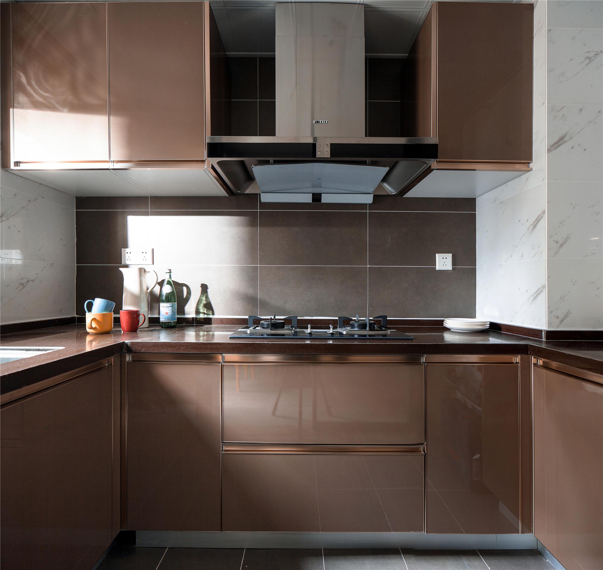 北欧风公寓装修厨房设计图
