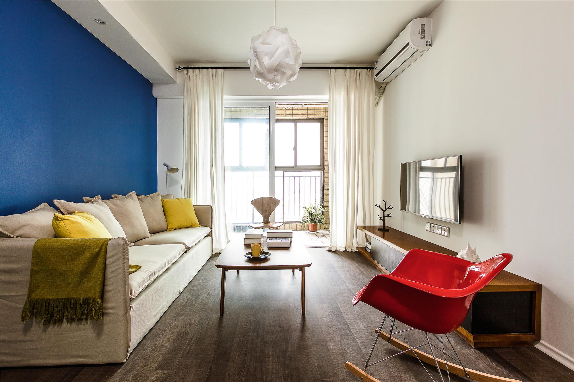 北欧风公寓装修客厅搭配图