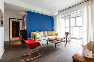 北欧风公寓装修沙发背景墙图片